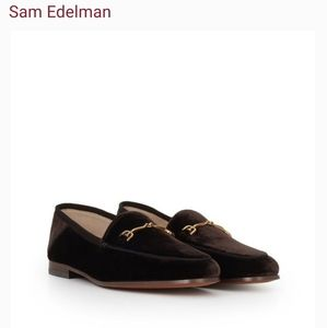 Sam Edelman Brown Velvet Loraine Bit Loafers!!
